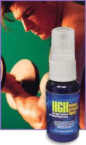 The Human Growth Agent (HGH/HGF) Spray is a proprietary formulation that stimulates the pituitary gland to increase its release of Human Growth Hormone into the bloodstream.